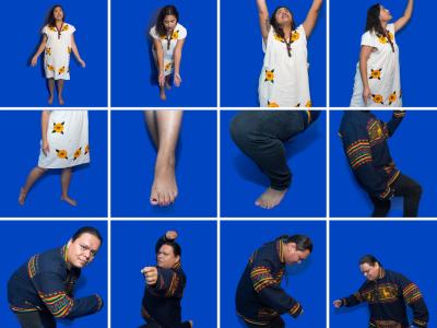 Gestures of Aztec Dance