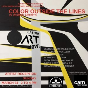 Color Outside the Lines: Latino Art Now! Spring 2019
